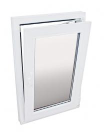 Fenêtre PVC blanc droite 86...