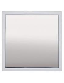 Fenêtre fixe en PVC blanc...
