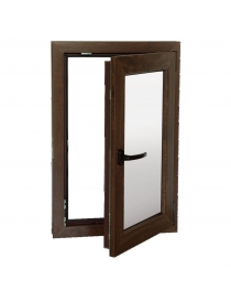 Fenêtre PVC droite 56 x 86  cm