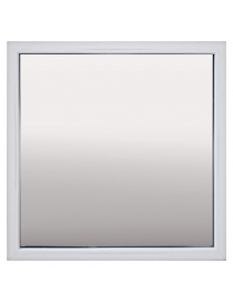 Fenêtre en PVC blanc fixé...