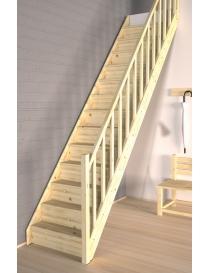 Escalier épicéa massif 13...