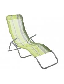 Chaise longue en tissu...
