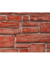 Papier peint effet briques...