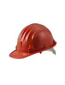 Casque de protection rouge