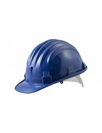 Casque de protection bleu