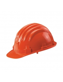 Casque de protection orange
