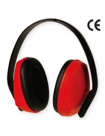 Casque anti-bruit rouge