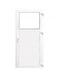 Porte PVC blanc,...