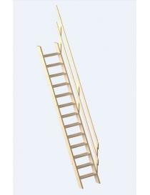Escalier épicéa 13 marches...