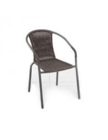 Chaise empilable acier et...