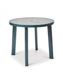 Table plastique foncée