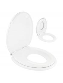 Siège de WC soft close avec...