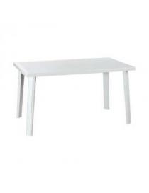 Table blanche en plastique...