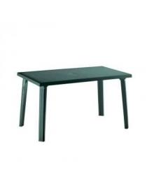 Table foncée en plastique...