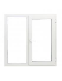 Fenêtre en PVC blanc 146 x...