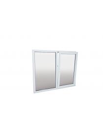 Fenêtre en PVC blanc...