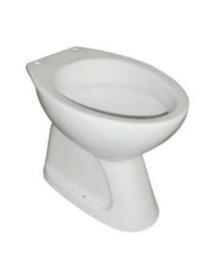 WC avec évacuation verticale