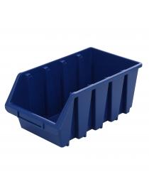 Boîte de rangement bleue...