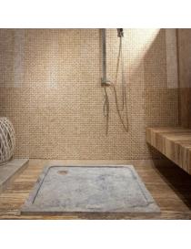 Bac de douche en pierre...