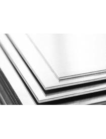 Tôle d'aluminium lisse 2 mm...