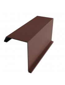 Bord métallique Bilka, brun...