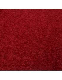Moquette de sol rouge en...
