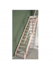 Escalier en bois de hêtre...