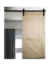 Porte coulissante en bois...