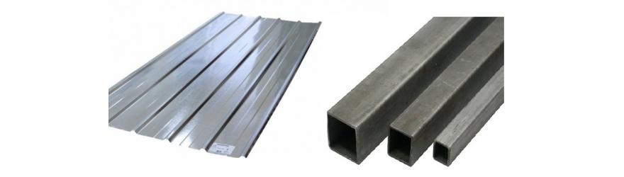 Tôles et profilés métalliques
