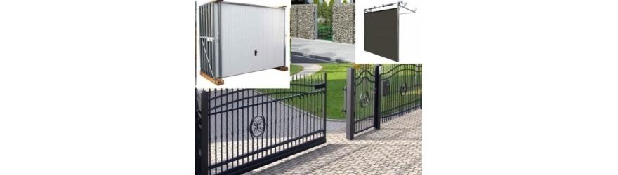 Clôtures, portails et portes de garage