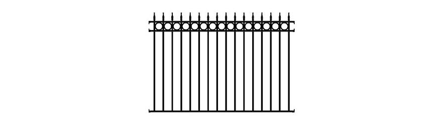 Clôtures de fer