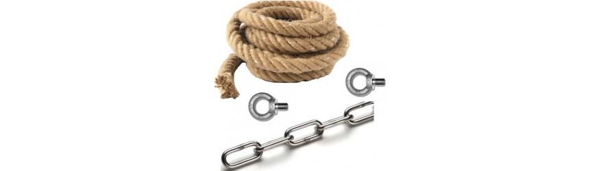Cordes chaînes & accessoires