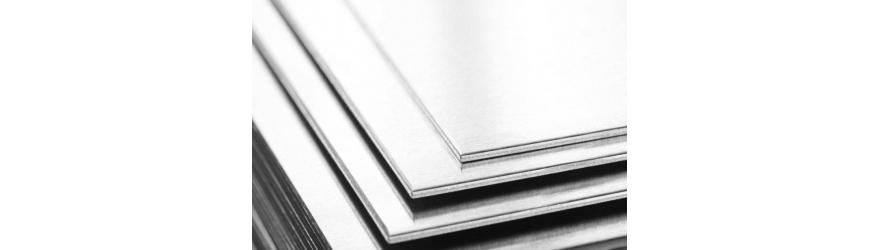 Tôles d'aluminium