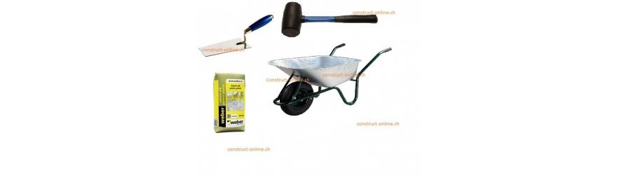 Accessoires, outils, adhésifs
