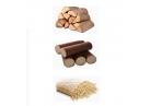 Bois de chauffage, pellets et briquettes