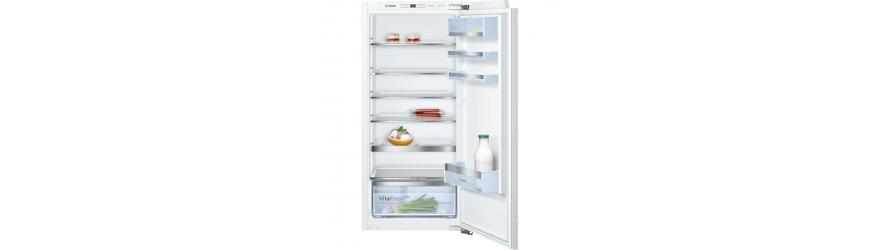 Réfrigérateurs encastrés avec une porte