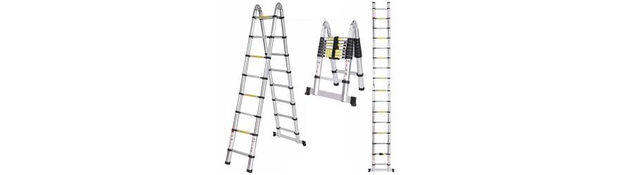Échelles télescopiques et échelles multifonctionnelles