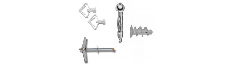 Cheville pour matériels creux