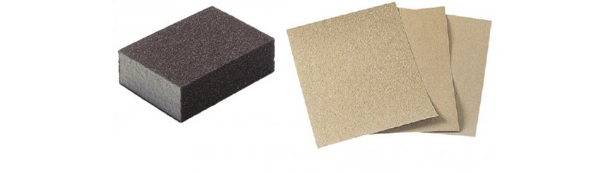 Papiers abrasifs pour le ponçage