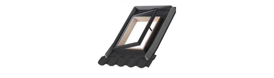 Fenêtre d'accès au toit